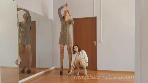 Height Comparison [Tall Amazon Ekaterina Lisina Height-206 cm.]