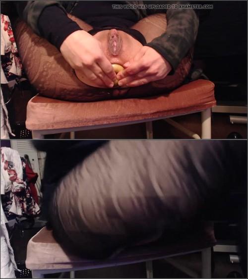 Extreme Porn: VixenMoon - Feeding my ass (HD/2017)
