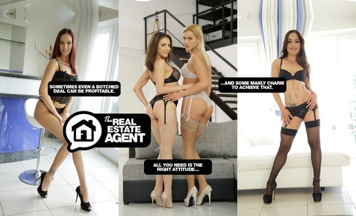 The Real Estate Agent [HD 720p] (lifeselector,SuslikX) [2017]