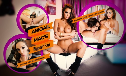 Abigail%20Mac s%20Biggest%20Fan1 m - Abigail Mac's Biggest Fan [720p HD] [lifeselector,SuslikX]