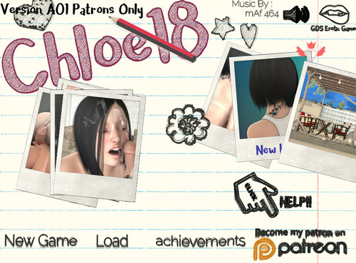 Chloe18 Version 0.5 Patreon release + Walkthrough [GDS] [English,French]