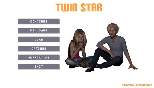 Twin Star - Version 0.7 (Twincest Game) [Panda Penguin] [2017]