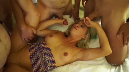 sexy topless women tied