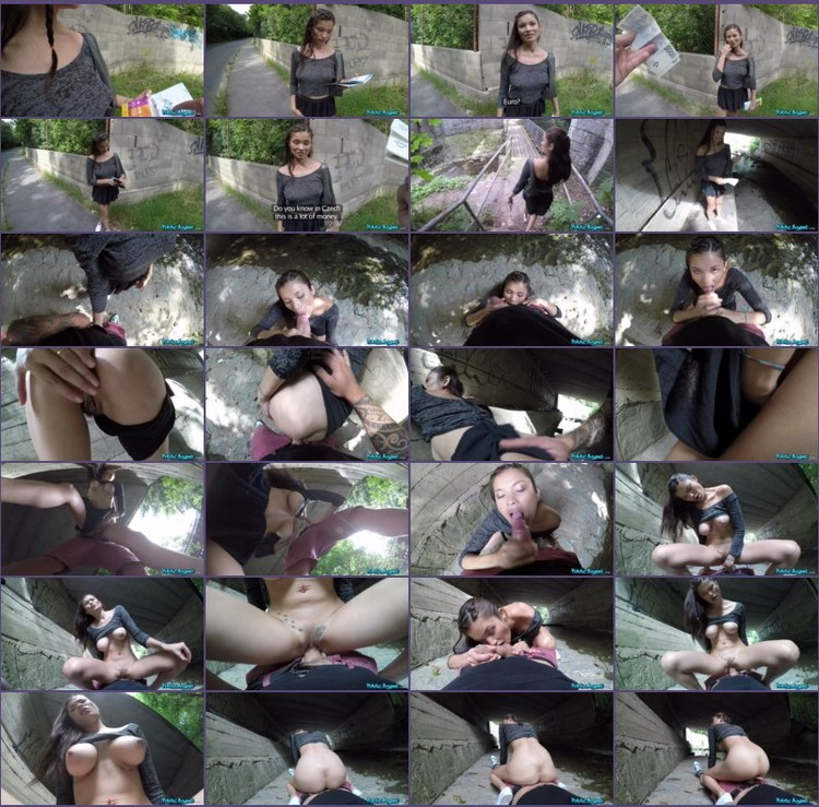 Miyuki Son - Outdoor sex under a railway bridge_thumb,
