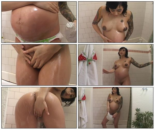 Video Oil Shower Masturbation