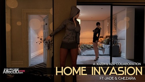 Cover 1 m - 3DZen & HZR - Home Invasion-{Comics}2017