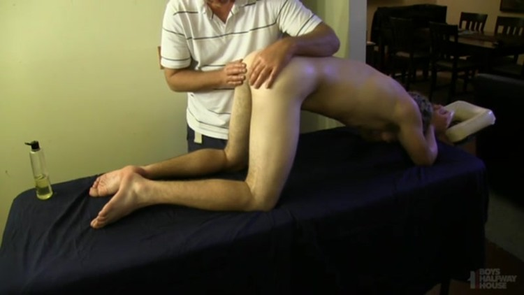 Massaged and Manhandled Jock