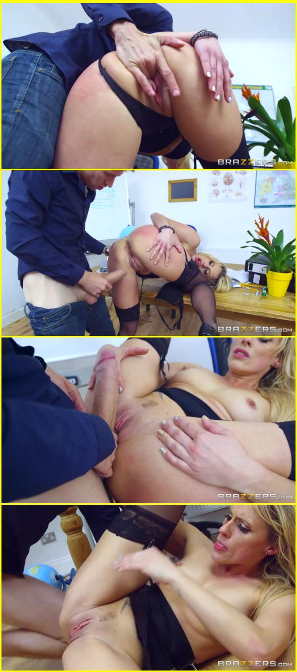Blonde school girl britney amber and big cock 5