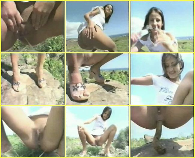 Nylon stocking footjob