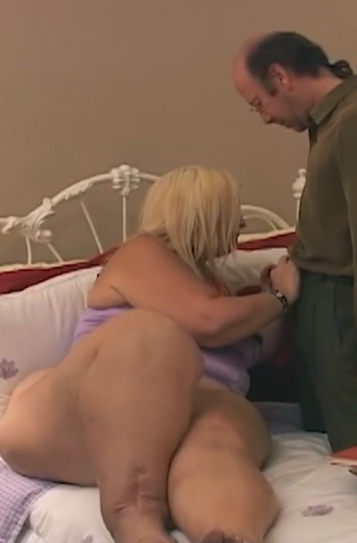 Big boobed blonde Monique getting her horny cunt fucked in bedroom