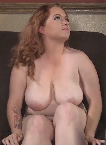 Chubby busty slut Arielle getting her fat pussy banged by huge black cock