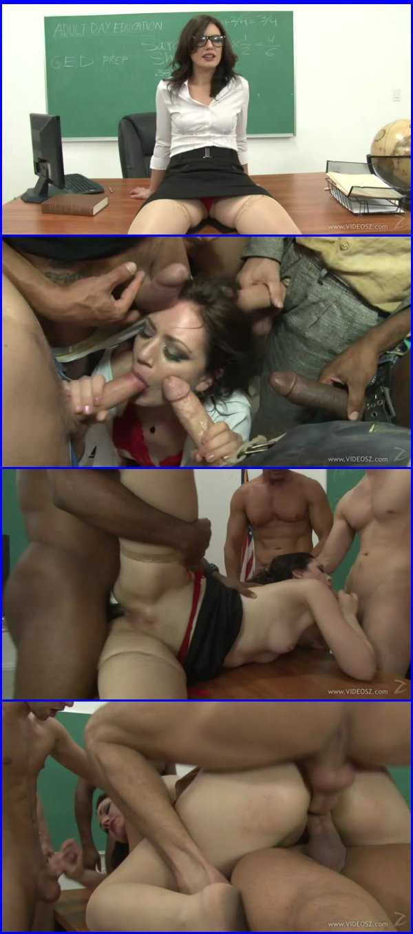 Six in one gangbang