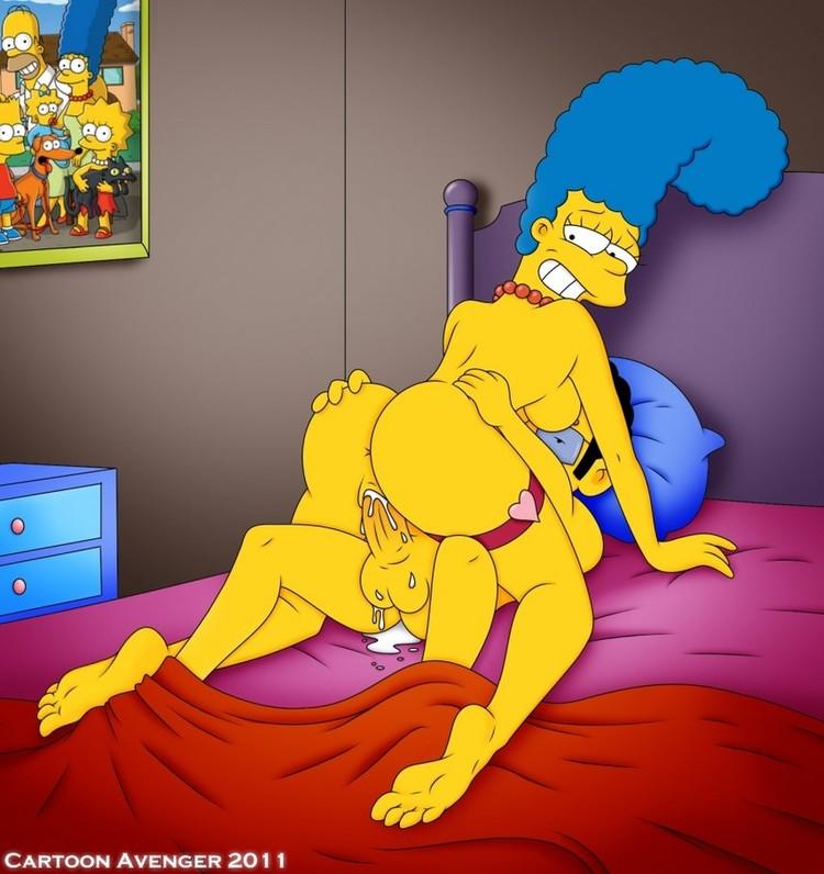 Порно симпсоны фото барт и мардж 8674 фотография