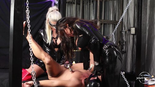 Kinky Mistresses – The Slave Is Under Our Control