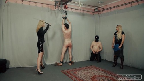 Cruel Punishments – Mistress Anette and Mistress Zita – Punishment institution XI
