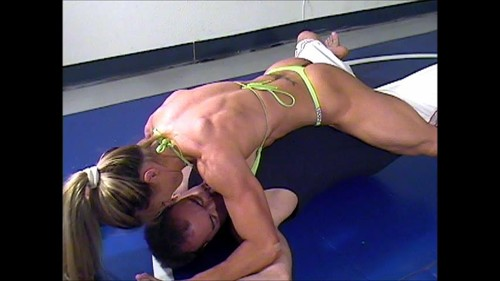 Woman and Woman – Maria Garcia – GG8 Mixed Wrestling Session