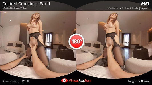 Virtual Real Porn Desired Cumshot 2160p Cover