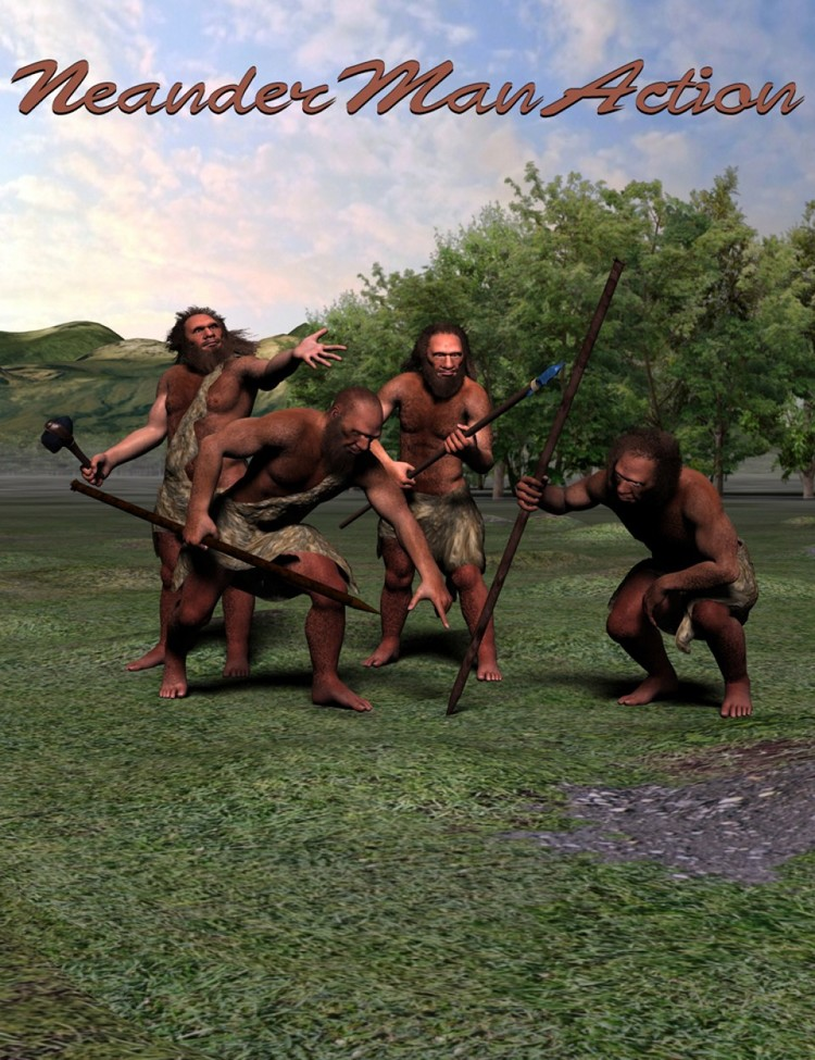 Neanderthal for Genesis - NeanderMan Action
