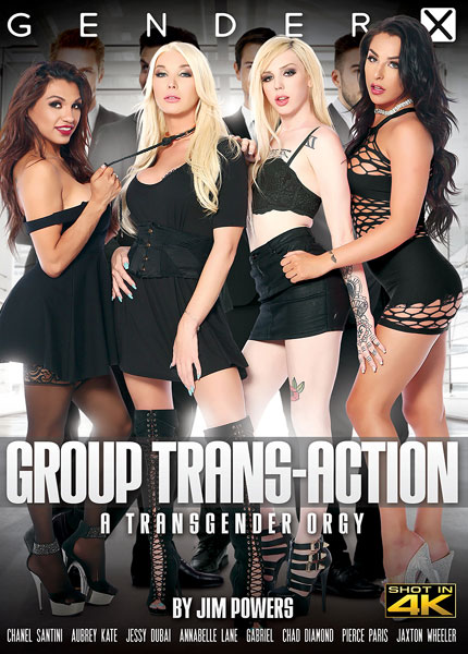Group Trans-Action - A Transgender Orgy (2017)