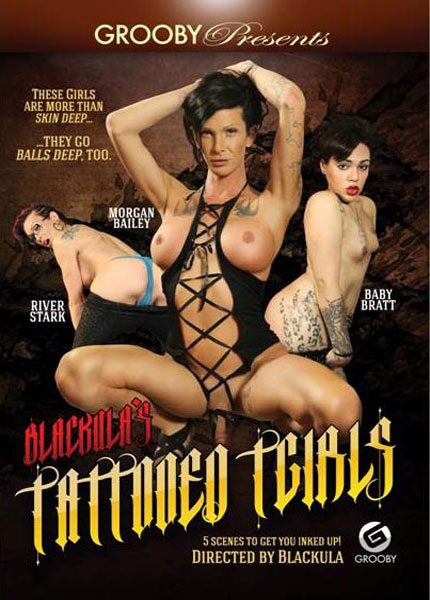Blackula's Tattooed TGirls (2016)