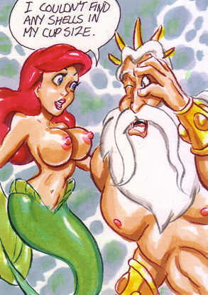 порно картинки секса ариэль с третоном