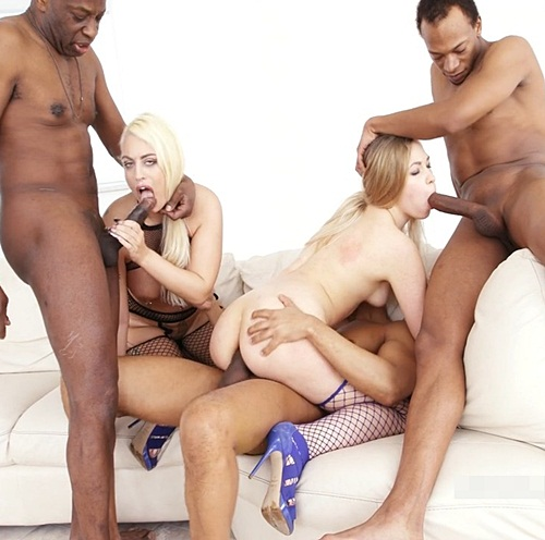 Only The Finest In Gangbang Videos Triple Penetration