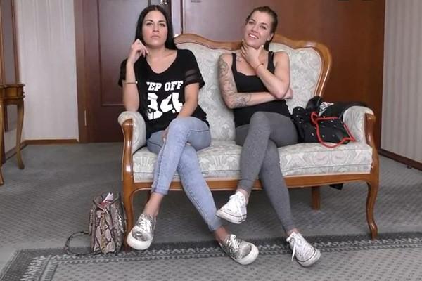 Eveline Dellai, Silvia Dellai - Dellai Twins Casting Cover