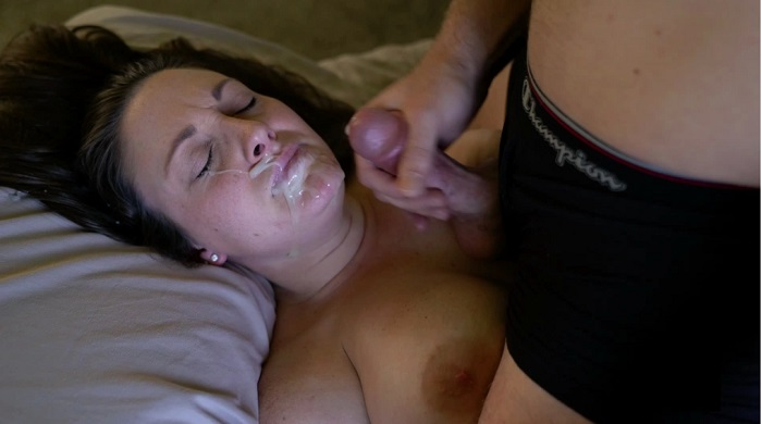 Hot milf forced to fuck