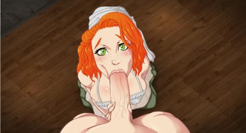 Kisshentai hottest hentai threesome scene ever