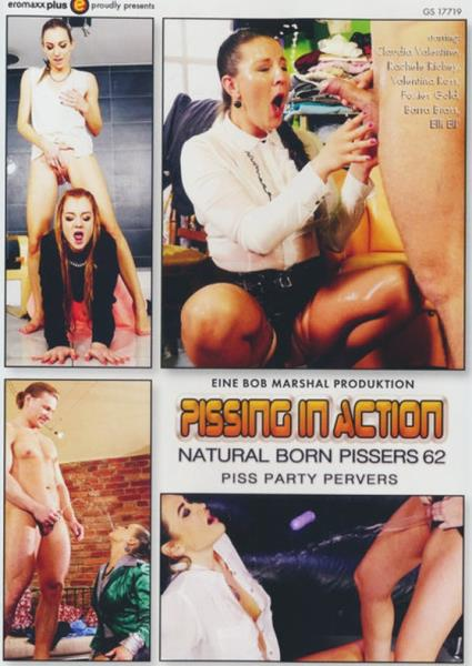 Pissing In Action - Natural Born Pissers 62 Cover