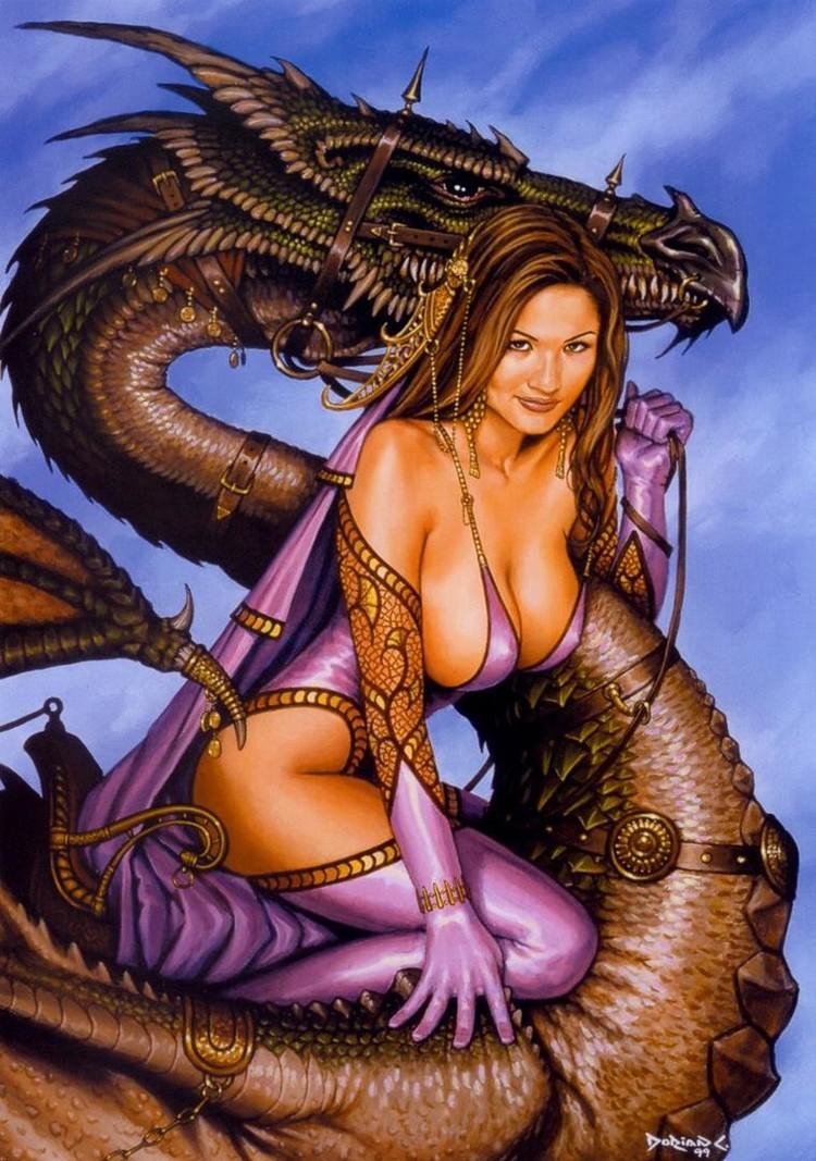 Порно с мифического существа 9