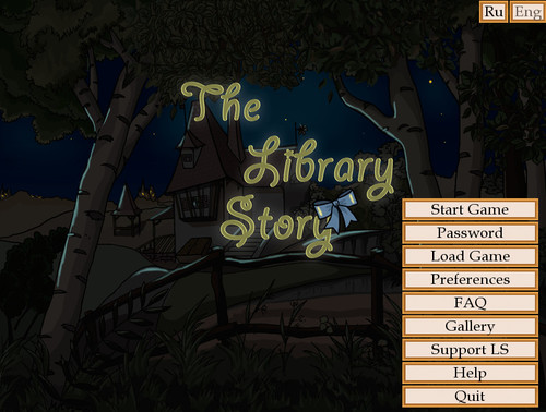Library story - Version 0.93 (Xaljio, Latissa)