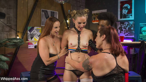WHIPPED ASS: August 31, 2017 – Mona Wales, Bella Rossi, Nikki Darling and Mistress Kara