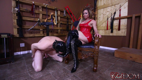 Clubdom: Licking Her Boots Clean (September 4st 2017)