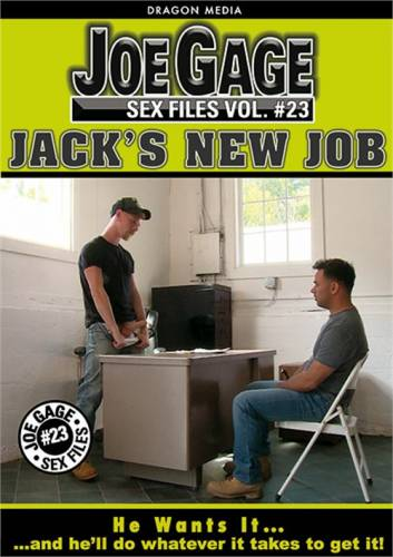 Joe Gage Sex Files 23 - Jack's New Job (2017)