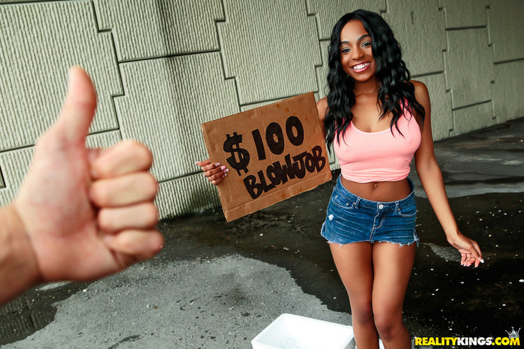 Ebony Street Blowjobs