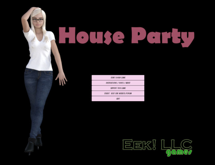 House Party [v0.9.3] [Eek! Games] Adult Sex Games