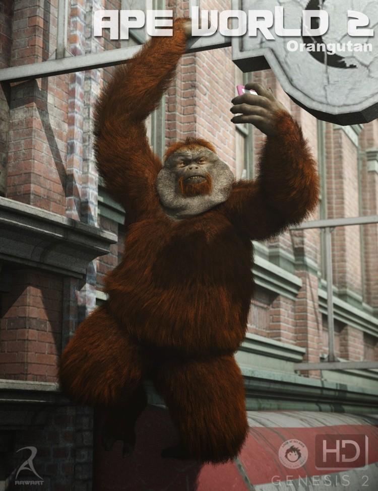 Ape World 2 - Orangutan HD