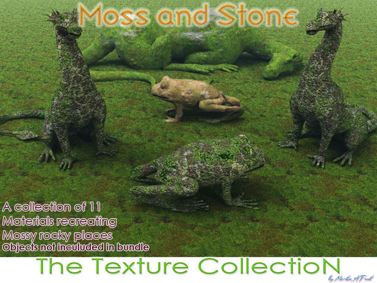 Moss & Stone – The Texture Collection (Vue)