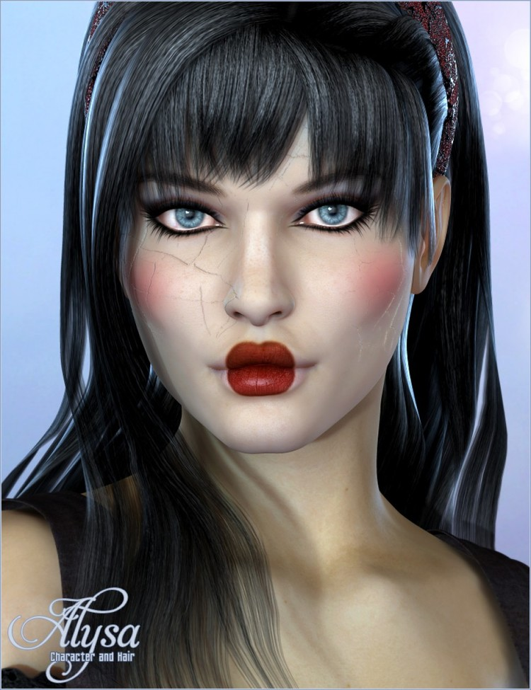 Alysa Character and Hair