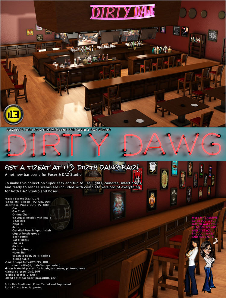 i13 Dirty Dawg BAR