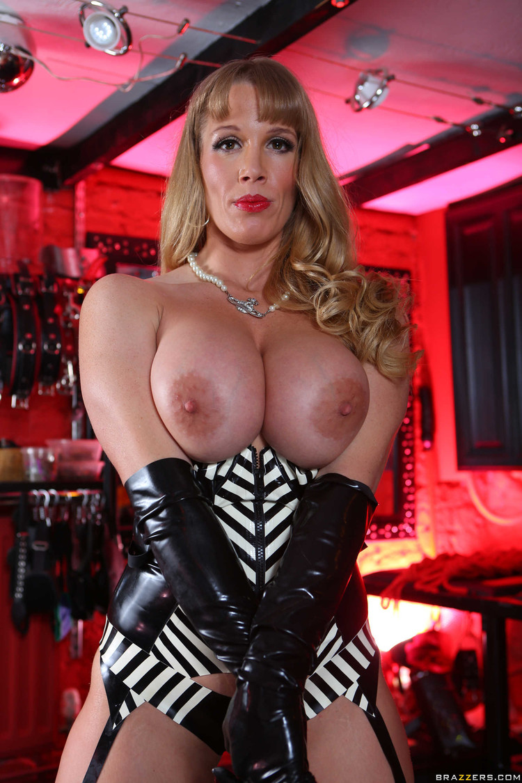 Busty dominatrix