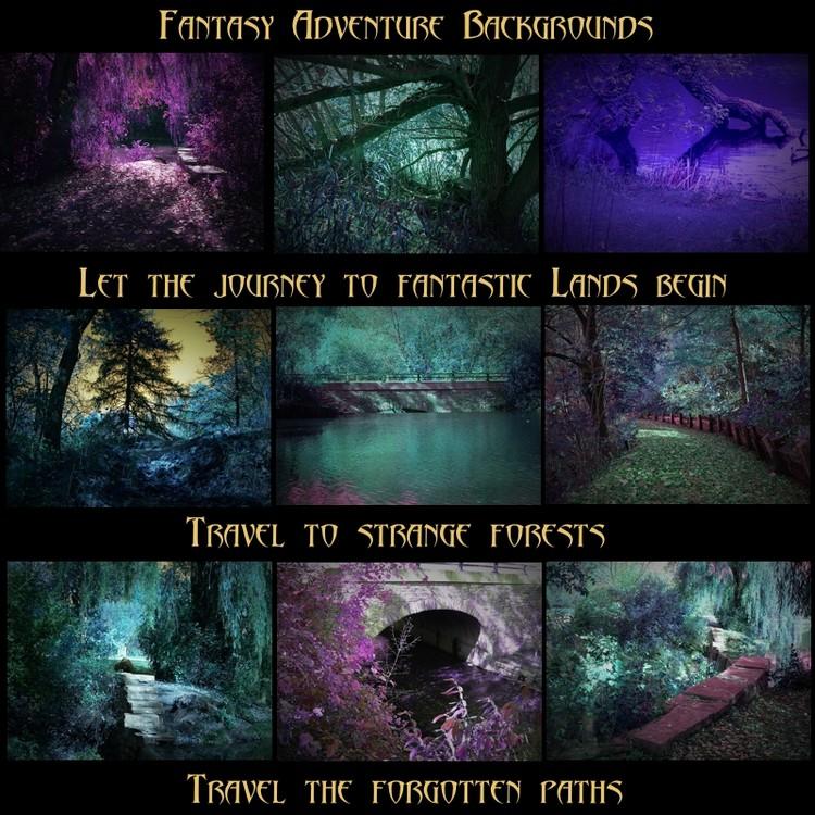 Fantasy Adventure Backgrounds