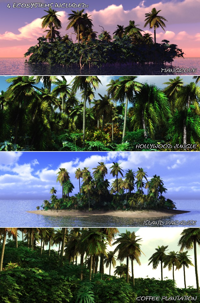 Incredibly Lush – Tropical Paradise (Vue)