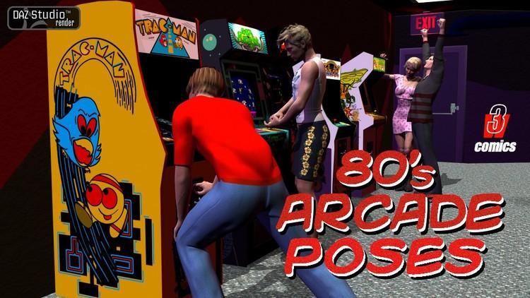 80's Arcade - 80's Arcade Poses