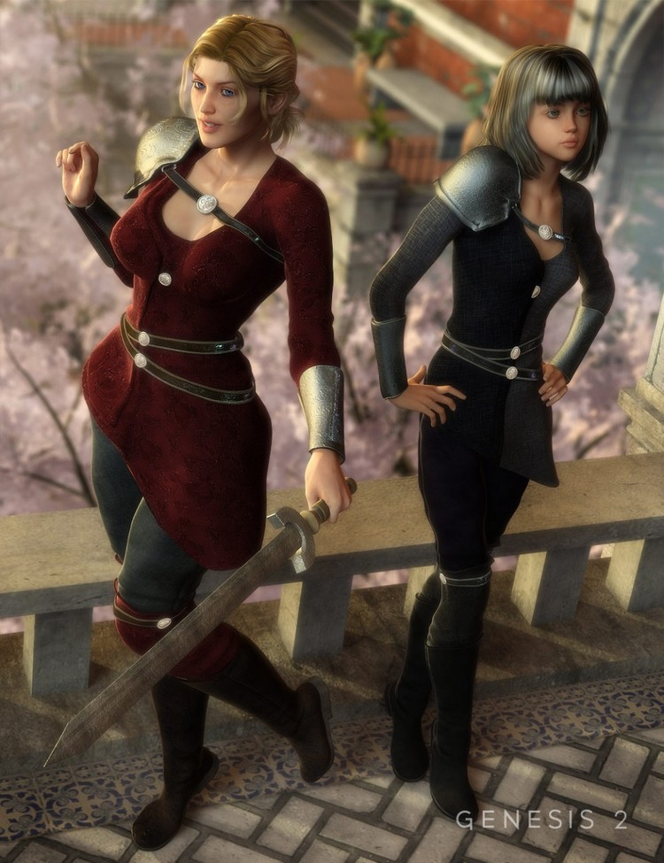 Mythbell for Genesis 2 Female(s) - Mythbell Textures