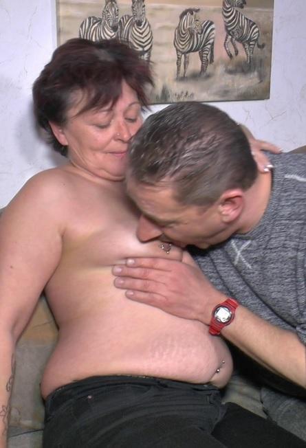 Chubby amateur German granny enjoys hardcore sex
