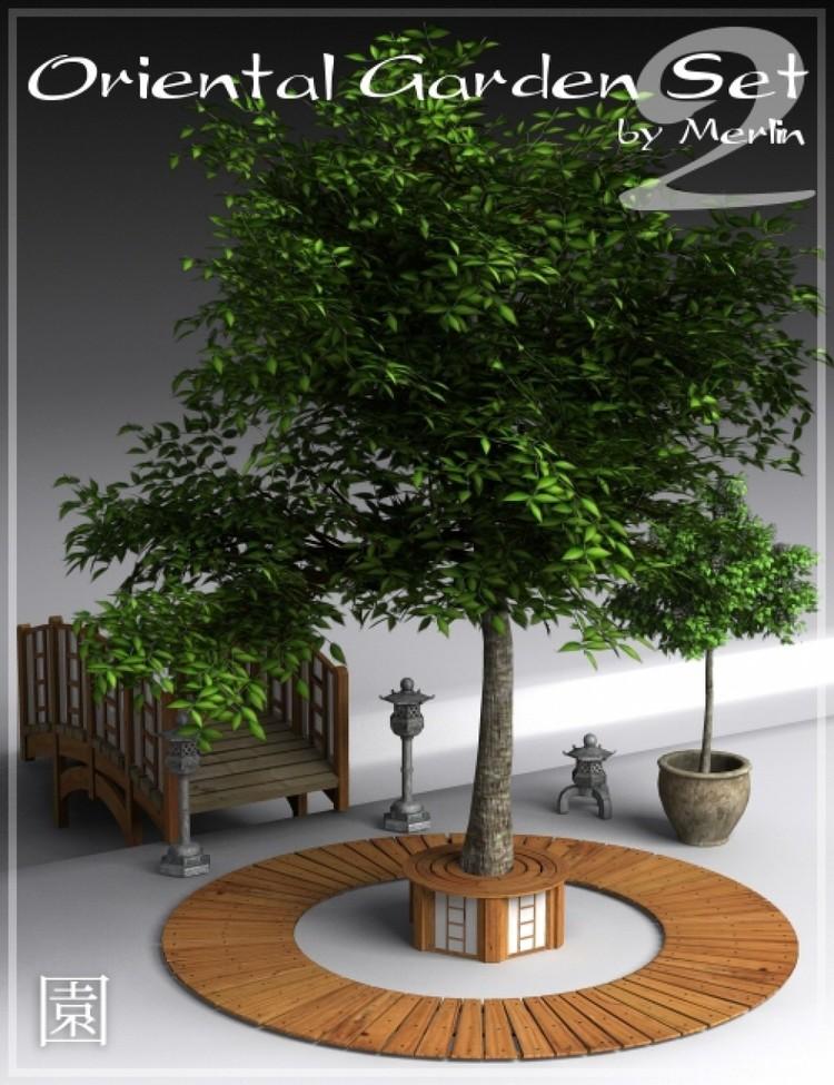 Oriental Garden Set 1 & 2 by Merlin