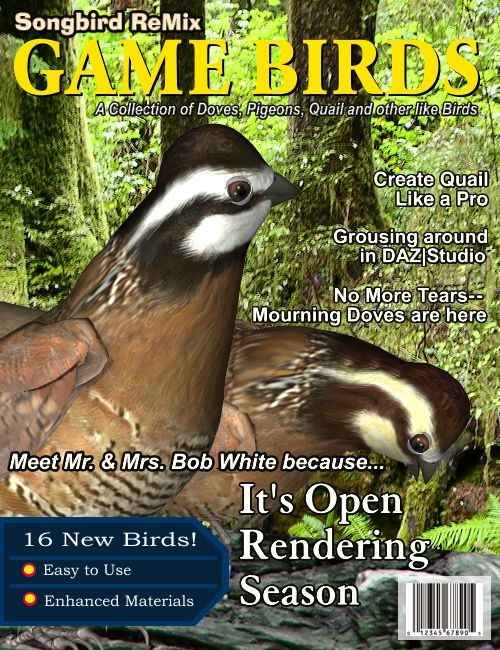 Songbird ReMix: Game Birds