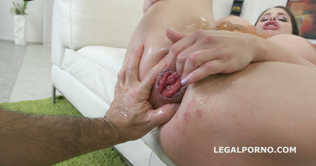 LegalPorno - Giorgio Grandi - Intimity - Cathy Heaven challenge herself without boys. ANAL /DT /FISTING /Various Toys... and now she is really done GIO317